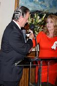 LOS ANGELES - MAR 4:  Eric Braeden, Melody Thomas Scott at the Melody Thomas Scott Celebrates 35 Yea