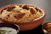 picture of rice  - Mutton Gosht Biryani  - JPG