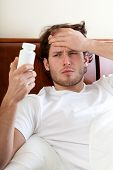 Unwell Man With Headache