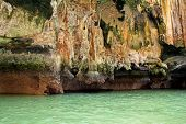 Close-up Ko Tapu Island In Thailand Known As James Bond Island