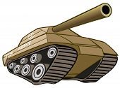 foto of panzer  - A Army Battle Tank ready for war - JPG