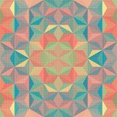 stock photo of kaleidoscope  - Vector Kaleidoscope Background - JPG
