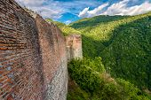 picture of impaler  - Poenari Fortress once owned by Vlad the Impaler  - JPG