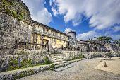 image of mausoleum  - Tamaudun Mausoleum in Okinawa - JPG