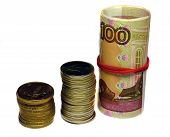 picture of bartering  - Russian money  - JPG