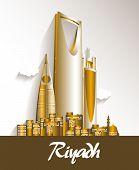 image of riyadh  - City of Riyadh Saudi Arabia Famous Buildings - JPG