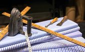 stock photo of tailoring  - Still Life of Tailor - JPG