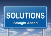 pic of solution  - solutions sign - JPG