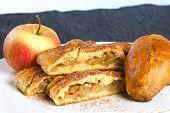 foto of patty-cake  - Homemade apple pie - JPG