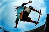 stock photo of skate board  - Skateboarding  - JPG