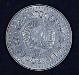 stock photo of former yugoslavia  - currency of the former Yugoslavia before the country was divided into states - JPG