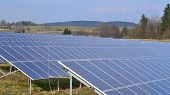 picture of bohemia  - production of electricity by photovoltaic panels South Bohemia Czech Republic - JPG