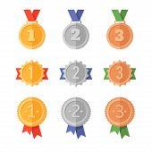 foto of gold medal  - Golden medals - JPG