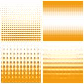 foto of dots  - Vector halftone dots - JPG