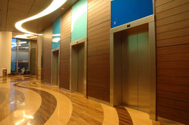 pic of modern building  - architecture interior of a modern business building - JPG