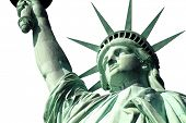stock photo of statue liberty  - New York - JPG