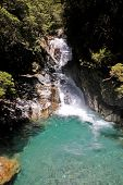 Waterfall At The Milford Road
