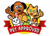 stock photo of hamster  - Pet Approved Seal - JPG