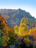 "stock photo of luka  - ""Samarskaya Luka"" national park in the central part of Russia. Autumn. - JPG"
