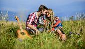 Romantic Song. Love Inspires Them. Fresh Air And Pure Feelings. Hiking Romance. Beautiful Romantic C poster