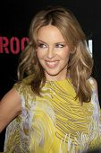 LOS ANGELES - FEB 9:  Kylie Minogue arrives at the ROC NATION Annual Pre-Grammy Brunch at the Soho H