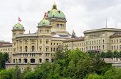 Swiss Parliament. Bern, Switzerland