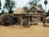 picture of chariot  - 5 Chariots of MahabaliPuram  - JPG