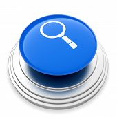 Magnifier Glass Sign Button
