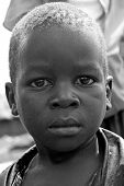 Portrait Of A Boy in Gulu Uganda