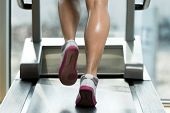 foto of treadmill  - Close - JPG