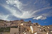 stock photo of sassy  - View of Sassi di Matera Basilicata southern Italy - JPG
