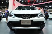 Nonthaburi - March 25: New Nissan Livina On Display At The 35Th Bangkok International Motor Show On