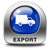export icon international trade logistics freight transportation world economy exportation of produc