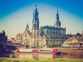 pic of trinity  - Dresden Cathedral of the Holy Trinity aka Hofkirche Kathedrale Sanctissimae Trinitatis in Dresden Germany - JPG