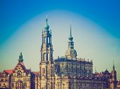 foto of trinity  - Dresden Cathedral of the Holy Trinity aka Hofkirche Kathedrale Sanctissimae Trinitatis in Dresden Germany - JPG