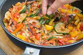 Постер, плакат: Cooking Ratatouille