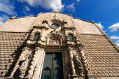 pic of bethlehem  - Esglesia de Betlem (Bethlehem Church). Baroque church located on the Ramblas of Barcelona Catalonia Spain ** Note: Soft Focus at 100%, best at smaller sizes - JPG