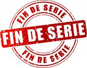 foto of bine  - French translation for end of the line red stamp icon - JPG