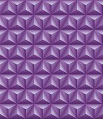 picture of triangular pyramids  - Abstract pattern of lilac tripartite pyramids - JPG
