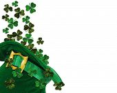 picture of st patrick  - 3D Illustration for St Patricks Day Card - JPG