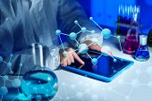 stock photo of experiments  - science - JPG