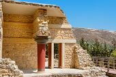 picture of minotaur  - Minoan Palace of Knossos - JPG