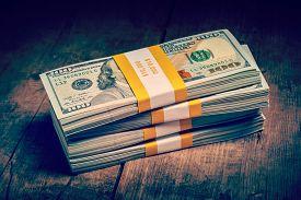 stock photo of money  - Creative business finance making money concept  - JPG