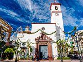image of senora  - Catholic Church of Nuestra Senora del Rosario  - JPG