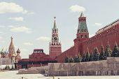 foto of mausoleum  - MOSCOW  - JPG