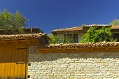 picture of unnatural  - Beautiful stylish old house close up view - JPG