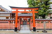 image of inari  - Fushimi Inari Shrine in Kyoto - JPG