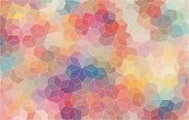 image of color geometric shape  - Pattern of geometric shapes - JPG