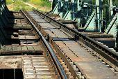 foto of serbia  - Old train bridge near Zrenjanin  - JPG