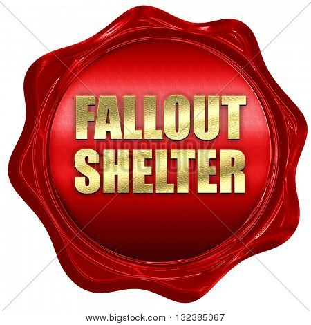 fallout shelter 3D rendering a